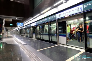 Jalan Besar MRT Station - Platform A