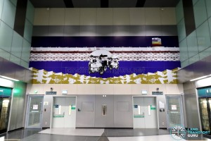 Jalan Besar MRT Station - Art In Transit 'A Kaleidoscopic World'