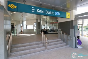 Kaki Bukit MRT Station - Exit B