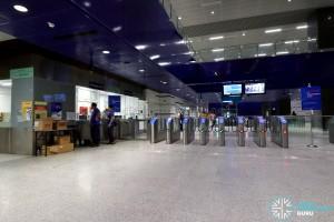 Kaki Bukit MRT Station - Faregates & PSC