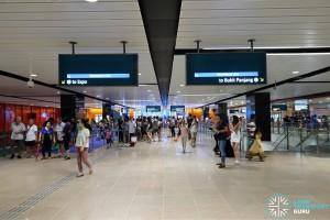 MacPherson MRT Station (DTL) - Concourse Paid Area