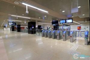 Mattar MRT Station - Concourse Faregates (B2)