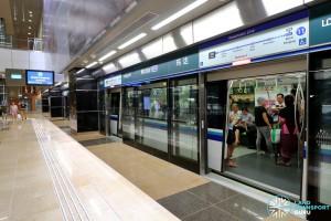 Mattar MRT Station - Platform A