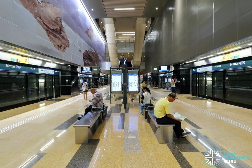 Mattar MRT Station - Platform Level (B4)