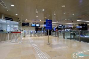 Mattar MRT Station - PSC & Faregates (B2)