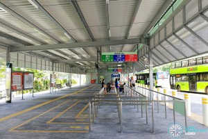 Punggol Bus Interchange: Expansion with Berths B4 and B5