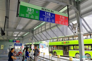Punggol Bus Interchange: Berth B4