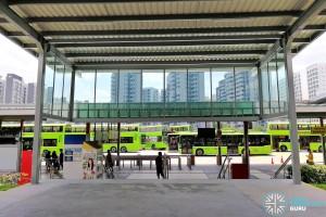 Punggol Bus Interchange: Linkway to Punggol MRT Station