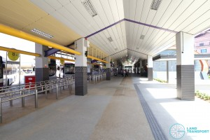 Tampines Bus Interchange - End-on berths