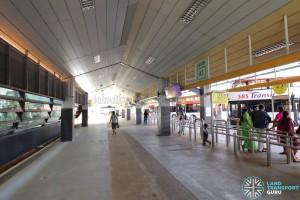 Tampines Bus Interchange - End-on berths