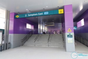 Tampines East MRT Station - Exit D
