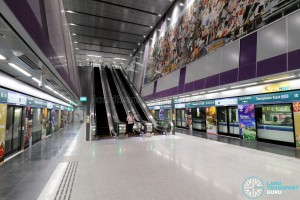 Tampines East MRT Station - Platform level (B3)