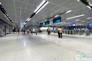 Tampines East MRT Station - Ticket Concourse (B1)