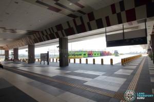 Tuas Bus Terminal - Concourse interior near Alighting berths