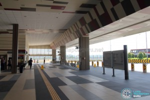 Tuas Bus Terminal - Main concourse