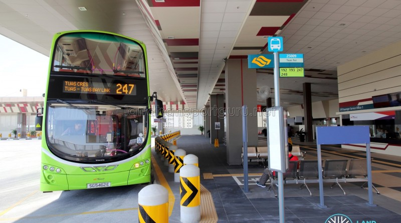 Tuas Bus Terminal - Bus boarding berth
