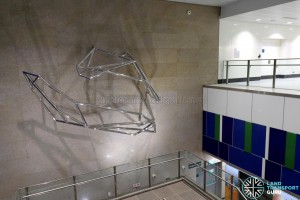 Ubi MRT Station - Art In Transit