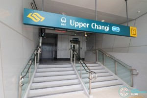Upper Changi MRT Station - Exit C