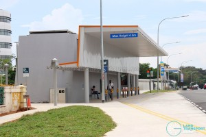 Upper Changi MRT Station - Taxi stand / Pick-up & Drop-off Point