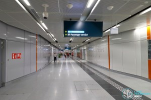 Upper Changi MRT Station - Public Linkway (B3)