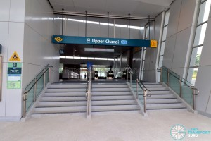 Upper Changi MRT Station - Exit B