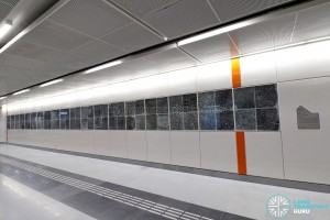 Upper Changi MRT Station - Art In Transit (I Am Anonymous)