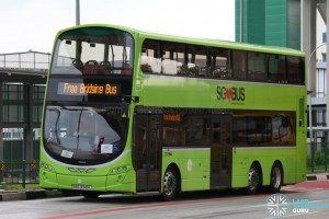 Tower Transit Volvo B9TL Wright (SBS3345L) - Tuas West Extension Bridging Bus