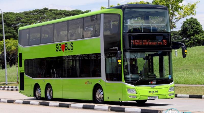 SBS Transit MAN A95 (SG5839C) - Service 19