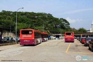 Kotaraya Bus Terminal - Rear view