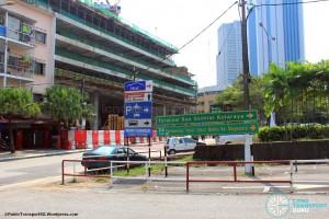 Kotaraya Bus Terminal - Vehicular entrance