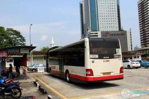 Kotaraya Bus Terminal - SMRT MAN A22 layover