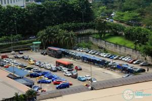 Kotaraya Bus Terminal - Overhead view