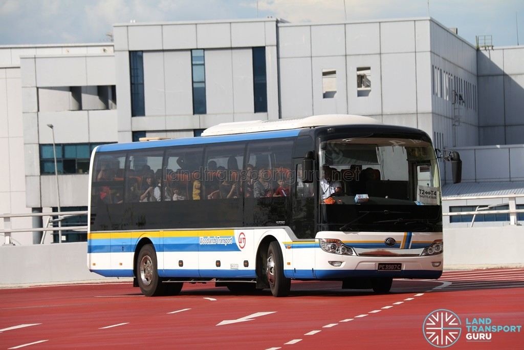 Woodlands Transport Yutong ZK6116H1 (PC3987C) - T4 - T2 Shuttle