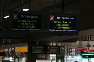 Tuas West Extension Suspension of Train Service (Nov 2017) - Screen
