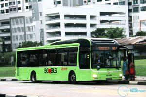 SMRT MAN A22 (SMB1429B) - Service 807