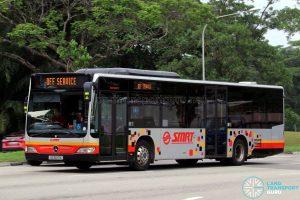 SMRT Mercedes Benz Citaro (SG1697X) - Off Service