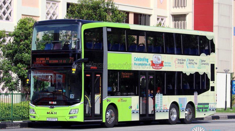 SBS Transit MAN A95 (SG2017C) - Service 71