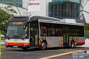 SBS Transit MAN Lion's City A22 (SMB3122Y) - Training Bus