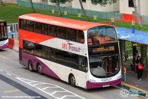 SBS Transit Volvo B9TL Wright (SBS3355H) - Service 31A