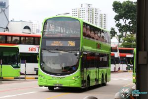 Tower Transit Volvo B9TL Wright (SBS3416R) - Service 79A