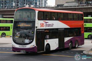 SBS Transit Volvo B9TL (SBS3890D) - Shuttle 1
