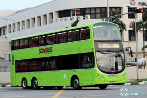 Tower Transit Volvo B9TL Wright (SG5008J) - Service 66A