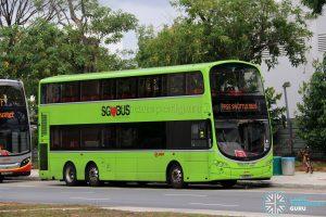 SMRT Volvo B9TL Wright (SG5128X) - Joo Koon—Gul Circle Shuttle Service