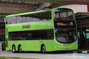 SBS Transit Volvo B9TL Wright (SG5509E) - Service 71