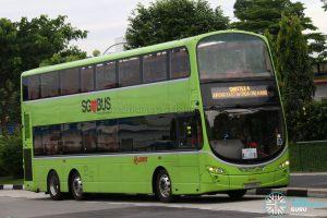 SMRT Volvo B9TL Wright (SG5599U) - Shuttle 4: Jurong East - Choa Chu Kang