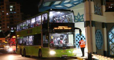 SMRT MAN Lion's City DD (SG5806Y) - Shuttle 4: Choa Chu Kang to Jurong East