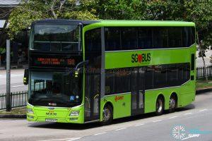 SMRT MAN A95 (SG5834R) - Service 190
