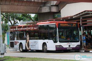 SBS Transit Mercedes-Benz Citaro (SBS6120Z) - Service 71
