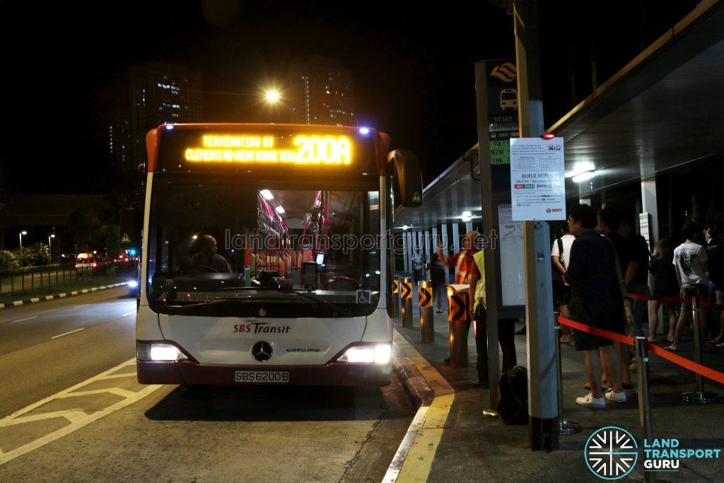 SBS Transit Mercedes-Benz Citaro (SBS6200B) - Service 200A
