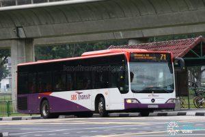 SBS Transit Mercedes-Benz Citaro (SBS6597G) - Service 71